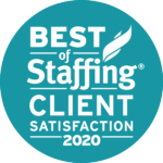 Best of Staffing Client Satisfaction 2020 Logo